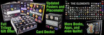 beautiful periodic table posters and card decks plus real elements and displays from the creators of this site