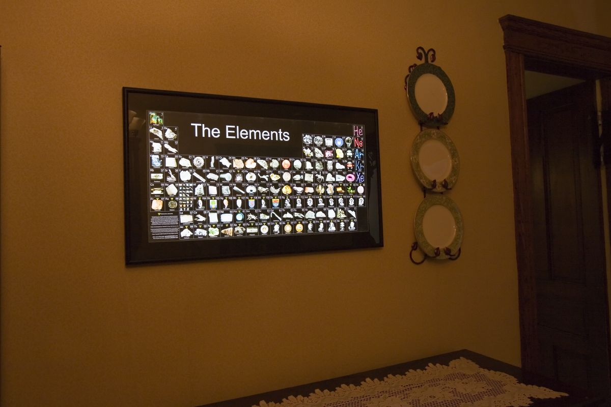 Photo periodic table posters photoglow on wall gamestrikefo Images