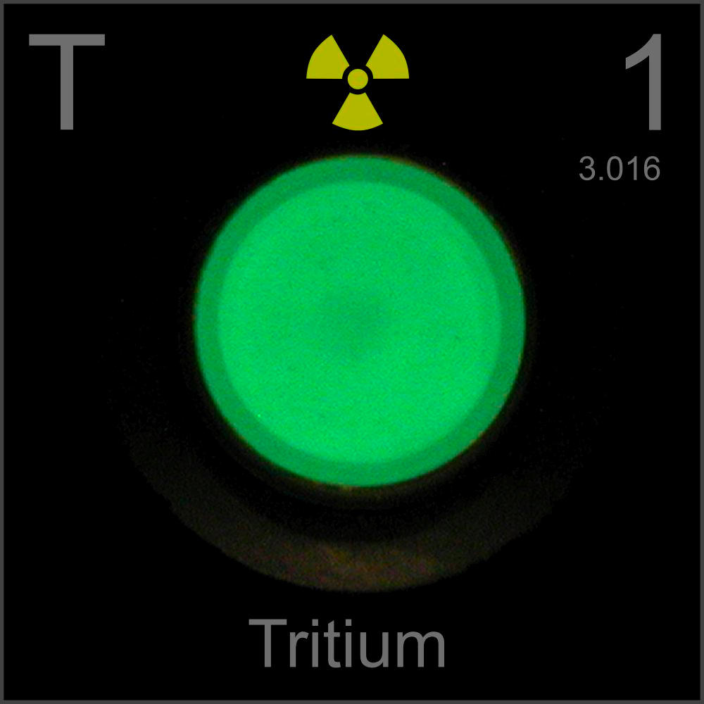 Tritium poster sample a sample of the element hydrogen in the hydrogen tritium poster sample gamestrikefo Choice Image