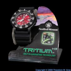 Hydrogen Tritium luminous watch