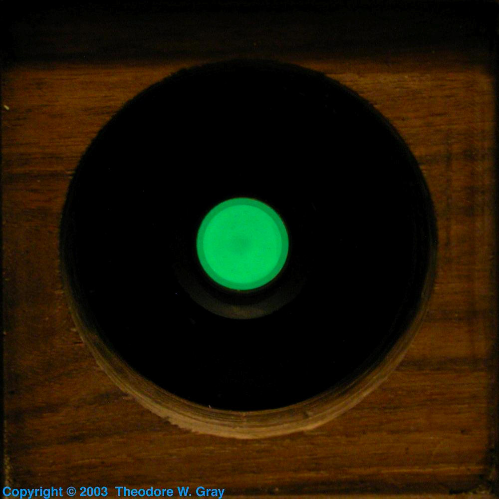 Tritium Location Marker A Sample Of The Element Hydrogen In The