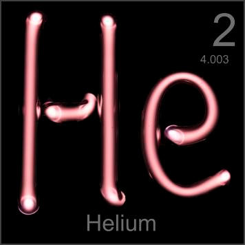 Pictures, stories, and facts about the element Helium in the Periodic Table