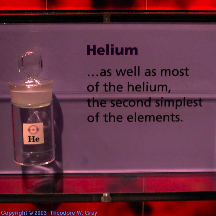 Helium Little bottle