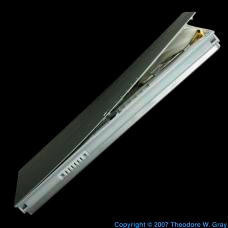 Lithium Puffed-up laptop battery