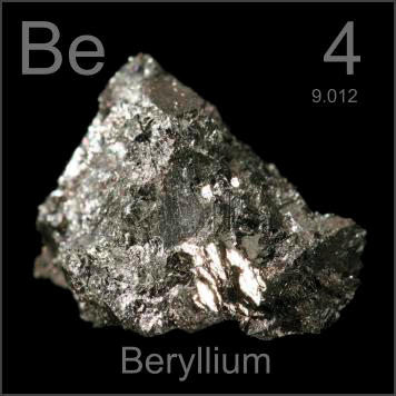 Image result for BERYLLIUM ELEMENT