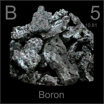 pictures, stories, and facts about the element boron in the, Skeleton