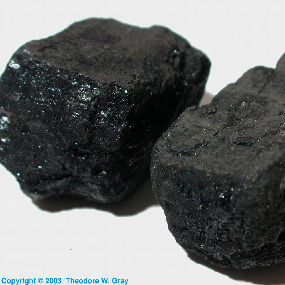 Anthracite coal a sample of the element carbon in the periodic table carbon anthracite coal gamestrikefo Gallery