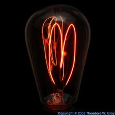 Carbon Carbon-filament lamp