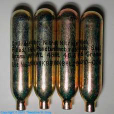 Nitrogen Small military cylinder