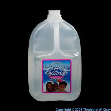 Fluorine Fluoridated bottled water