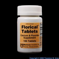 Fluorine Florical tablets