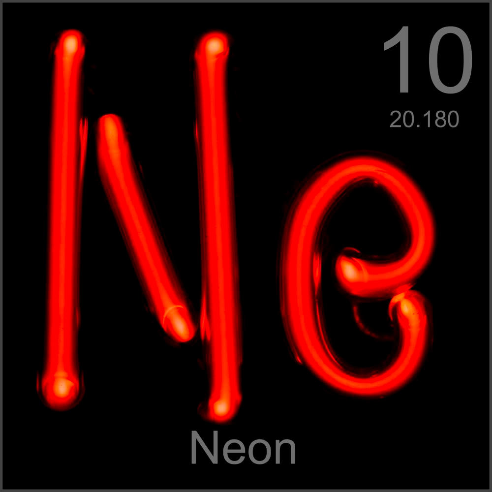 Museum grade sample a sample of the element neon in the periodic table neon museum grade sample buycottarizona Images