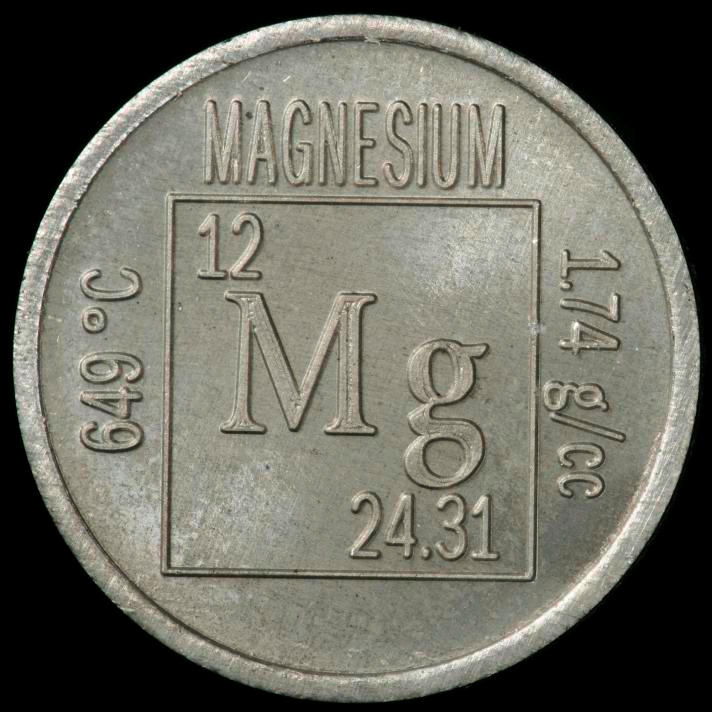 Magnesium Element coin