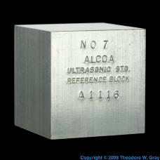 Aluminum Ultrasonic test block
