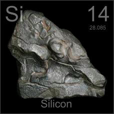 Silicon Less pure four pound lump