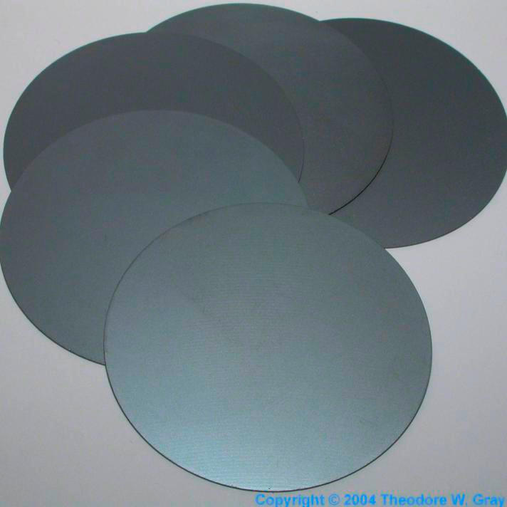 Silicon Unpolished 2 wafers