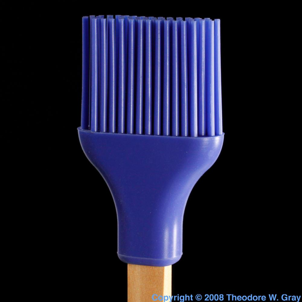 Silicone Brush A Sample Of The Element Silicon In The
