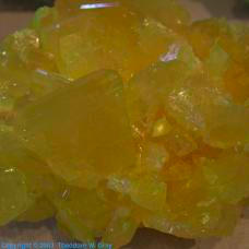 Sulfur Smaller natural crystal