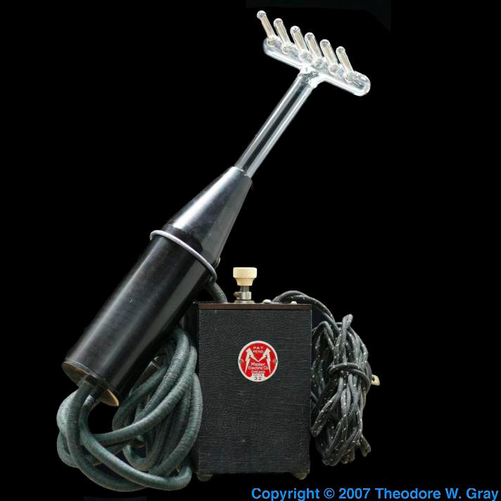 Argon Antique Violet Ray Machine