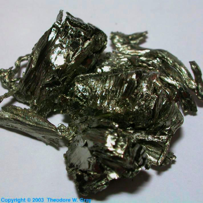 Scandium Sample from the RGB Set
