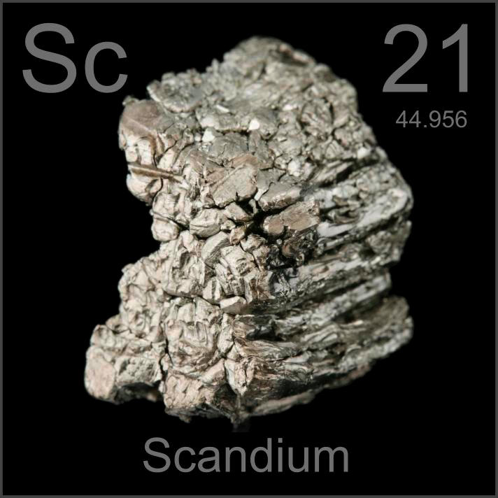 Scandium Poster sample
