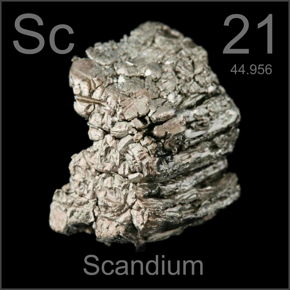 Poster Sample A Sample Of The Element Scandium In The