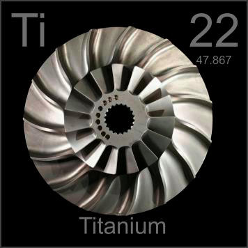 Pictures, stories, and facts about the element Titanium in the ...