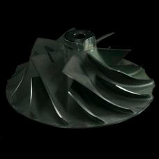 Titanium Jet engine blisk