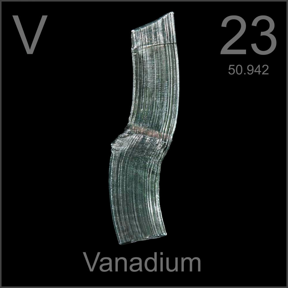 Poster Sample A Sample Of The Element Vanadium In The