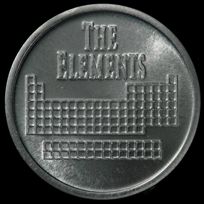 Vanadium Element coin