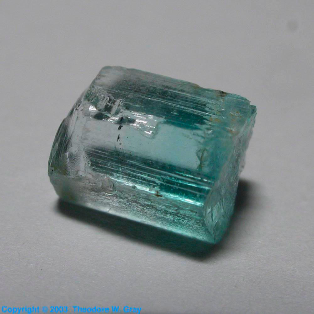 vanadium emerald a sample of the element vanadium in the periodic table