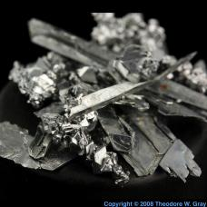 Chromium Shiny crystals