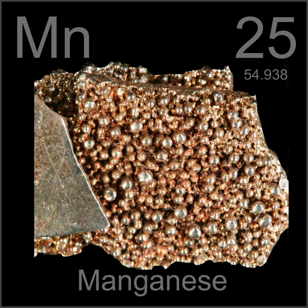 Pictures Stories And Facts About The Element Manganese In The