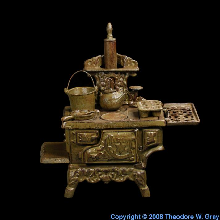 Iron Mini cast iron stove 2