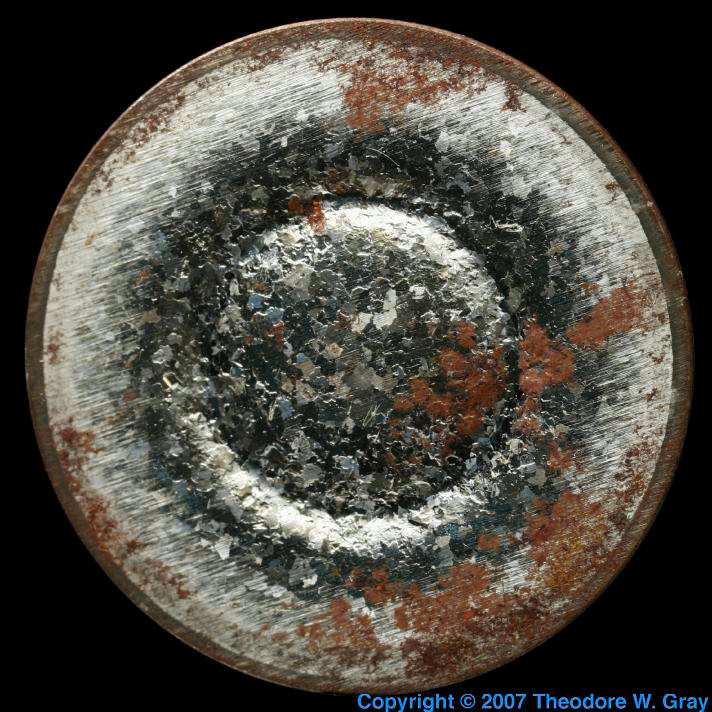 Iron Rusty sputtering target