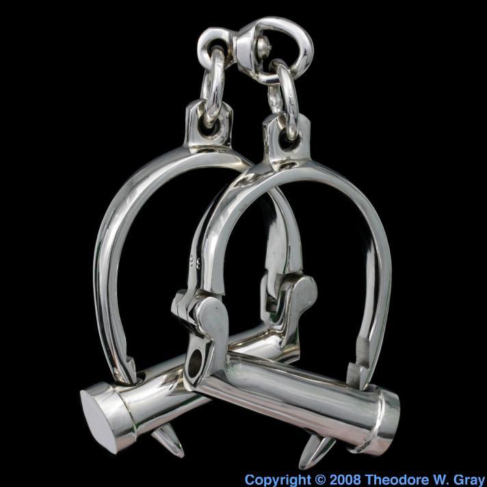 Nickel Gorgeous handcuffs