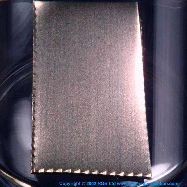 Nickel Sample from the RGB Set