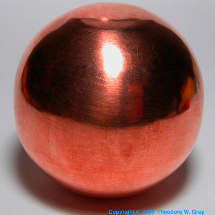 Copper Hand-polished 2 ball