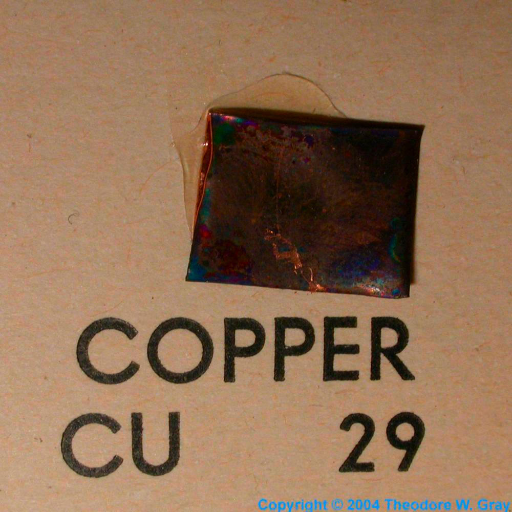 Mini element collection a sample of the element copper in the copper mini element collection gamestrikefo Images