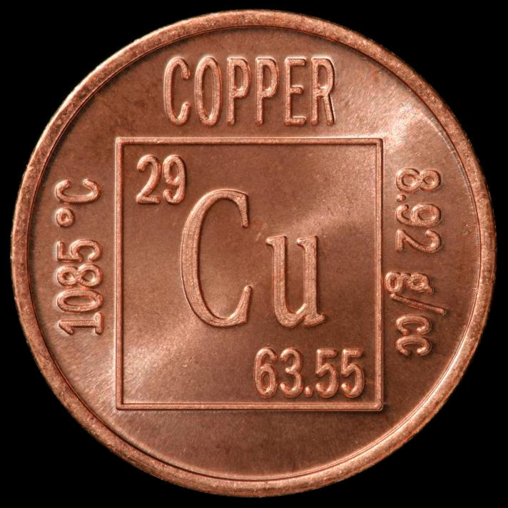 Copper Element coin