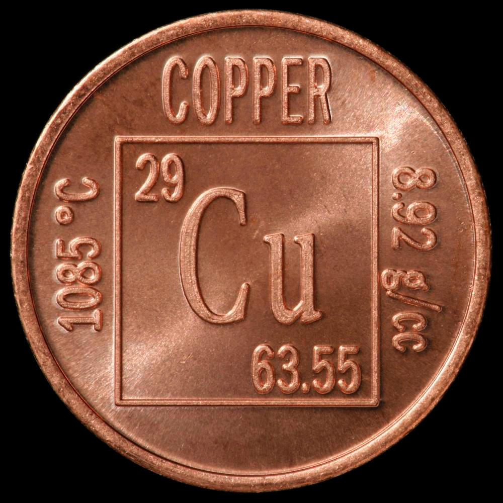 Pictures stories and facts about the element copper in the copper element coin buycottarizona