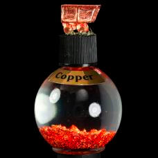Copper Copper leaf in bottle
