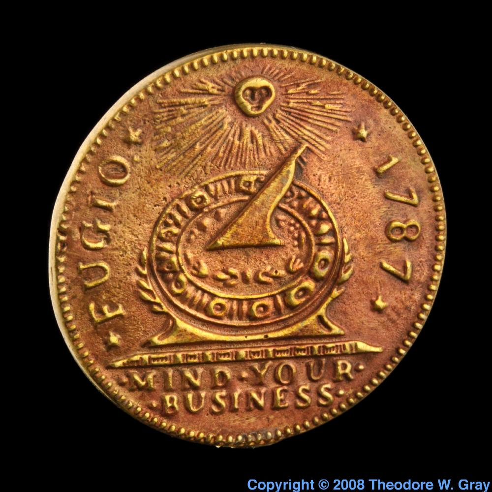 Copper Replica copper coin  Iridium Coin