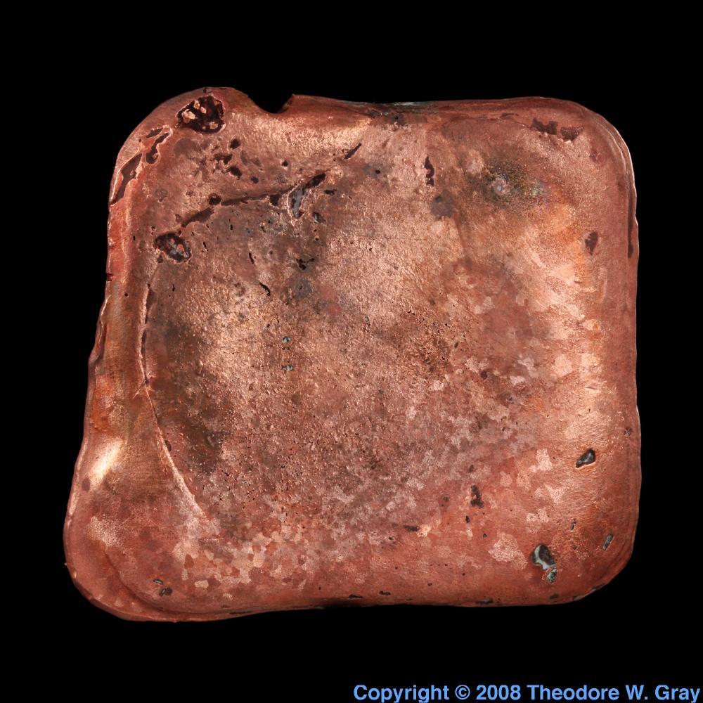 Copper Copper copy of iridium  Iridium Coin