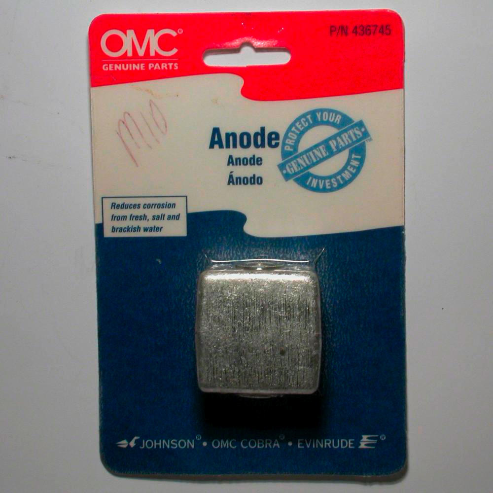 Outboard Motor Anode A Sample Of The Element Zinc In The