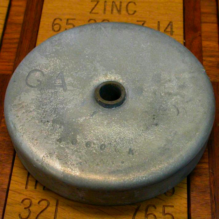 Zinc Larger boat anode