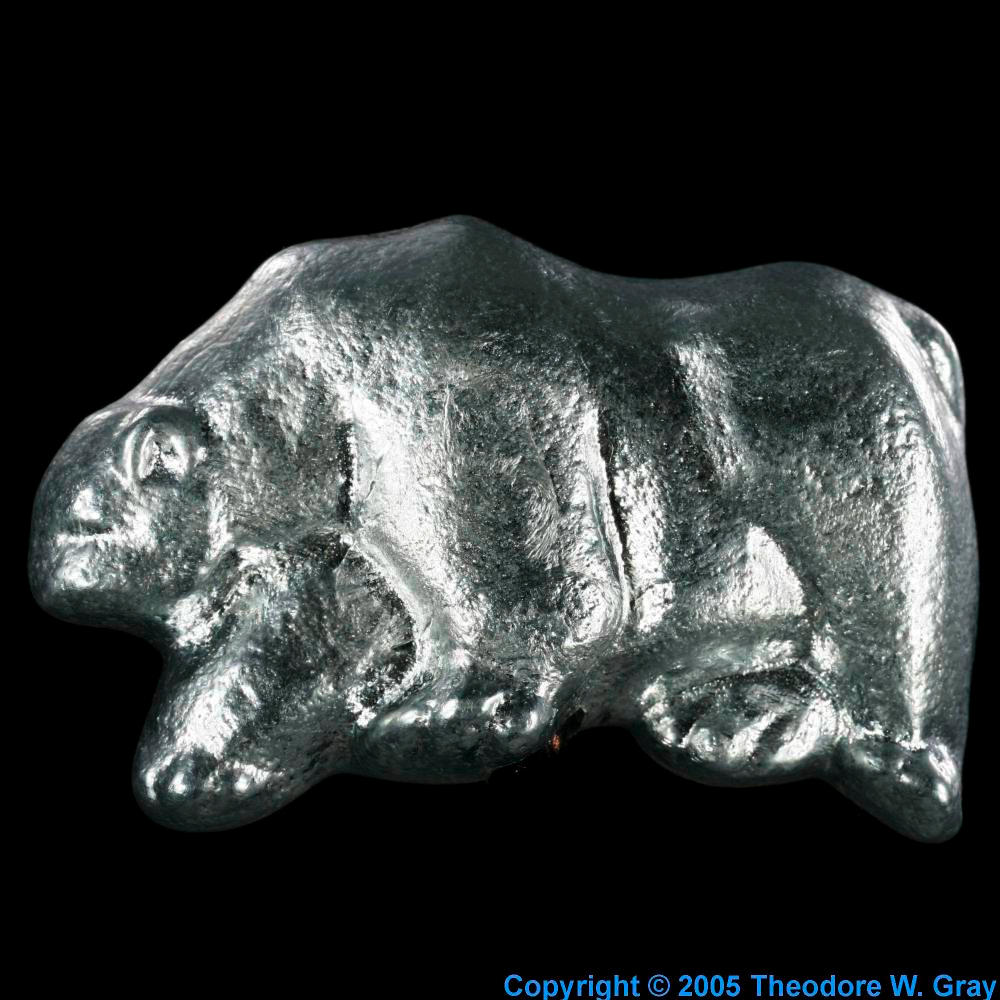 Little Animals A Sample Of The Element Zinc In The