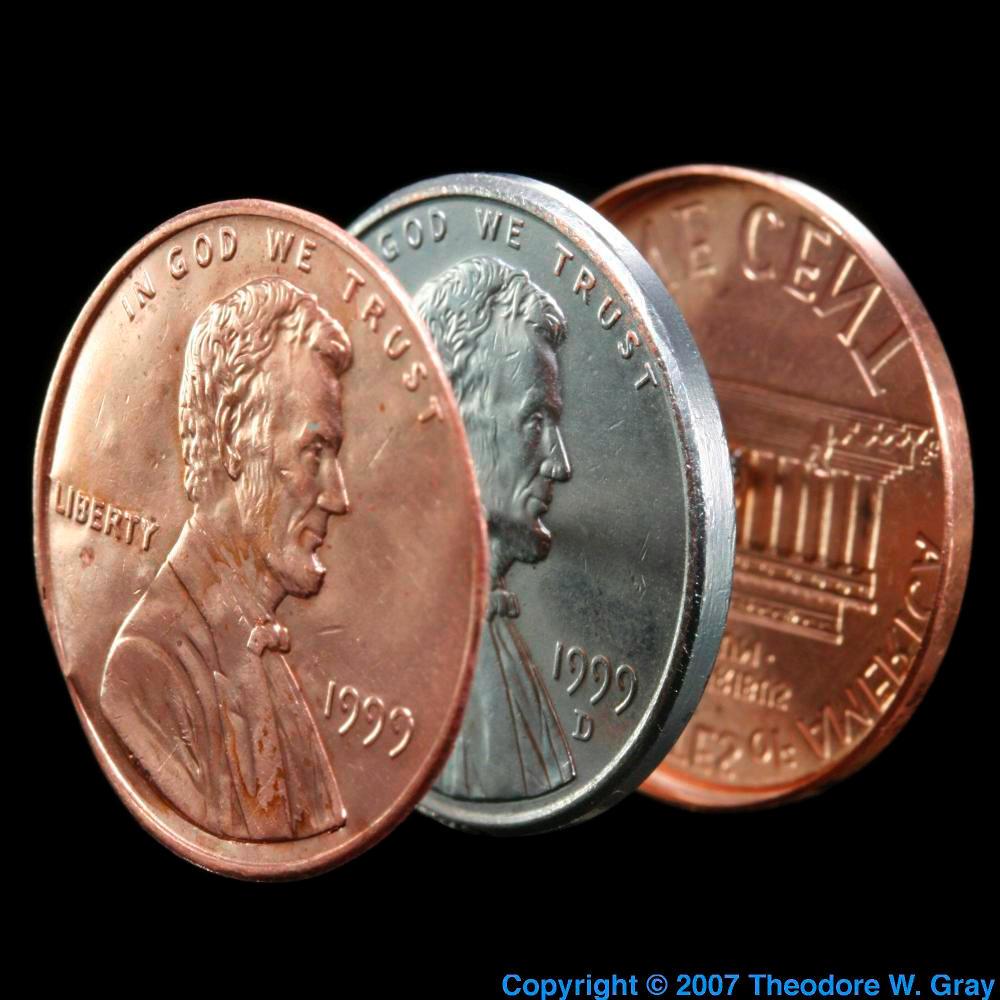 Zinc Split penny Common Uses Of Zinc