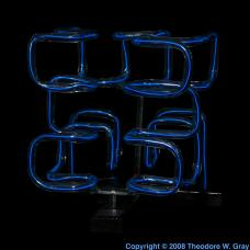 Pictures stories and facts about the element zinc in the periodic zinc electroluminescent fractal sculpture urtaz Images