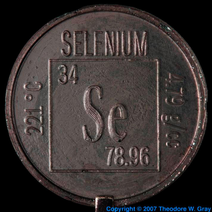 Selenium Element coin